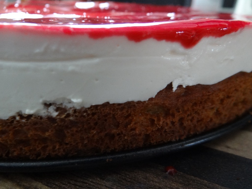 Low Carb Frischkase Torte Mit Himbeer Glasur Low Carb Rezepte