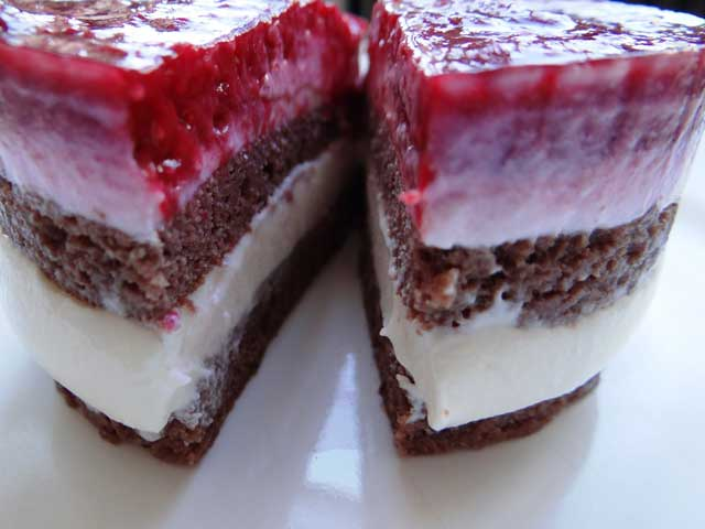 Rezeptbild Lower Carb Himbeer-Joghurt Törtchen
