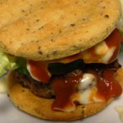 Rezept für Low Carb Hamburger Brötchen
