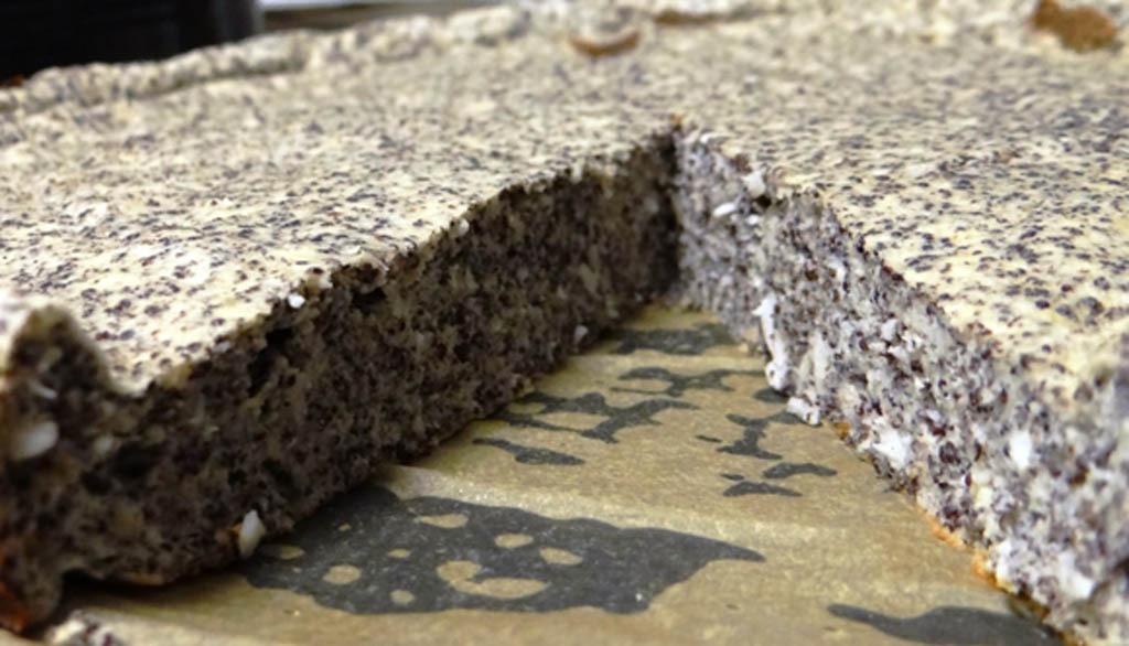 Rezeptbild Lower Carb Mohn-Kokos Kuchen