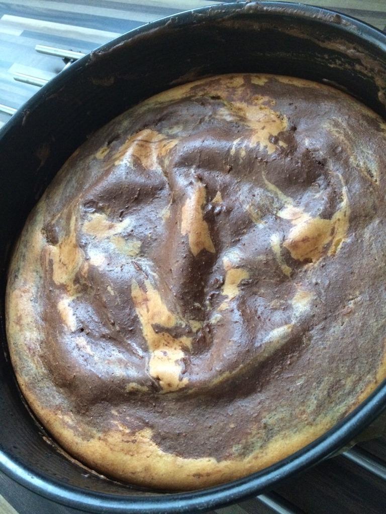 Gfleggter Pudding Kuchen zubereiten