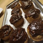 Rezept für Oster Muffin Rezept mit Schoko-Zitronen Topping