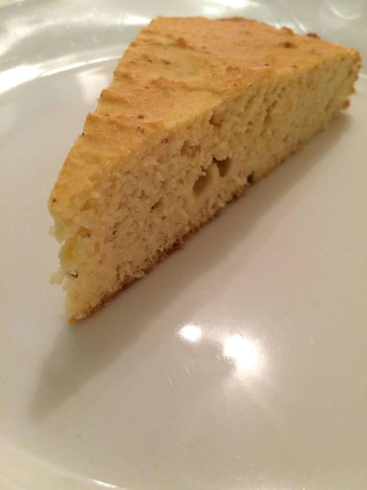 Rezeptbild Zitronen Vanille Proteinkuchen LCHF