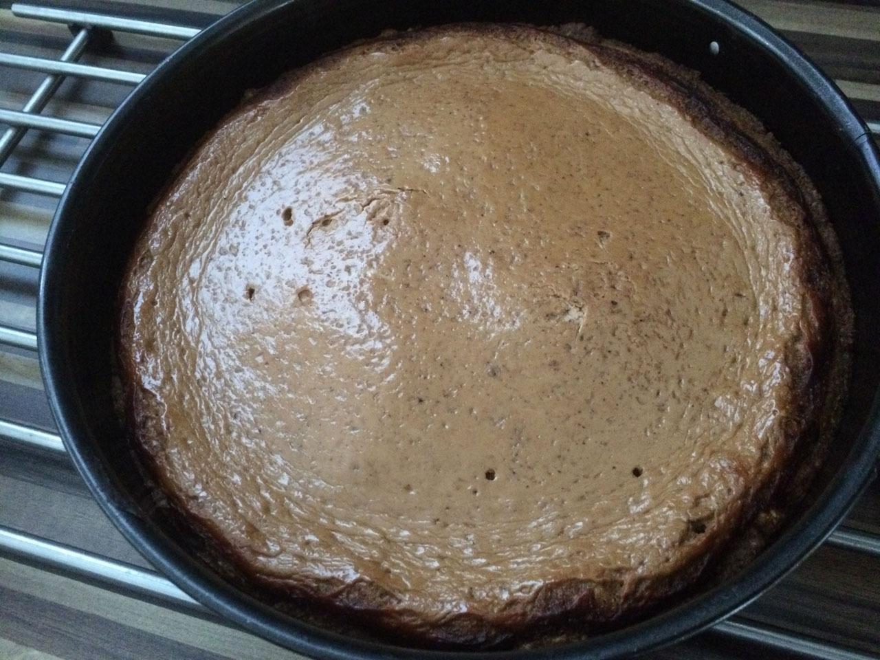 Quarkcreme Kuchen mit Kakaonote Rezept nachkochen