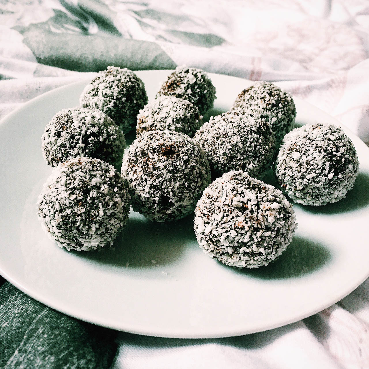 Rezeptbild Coconut Protein Pralinen