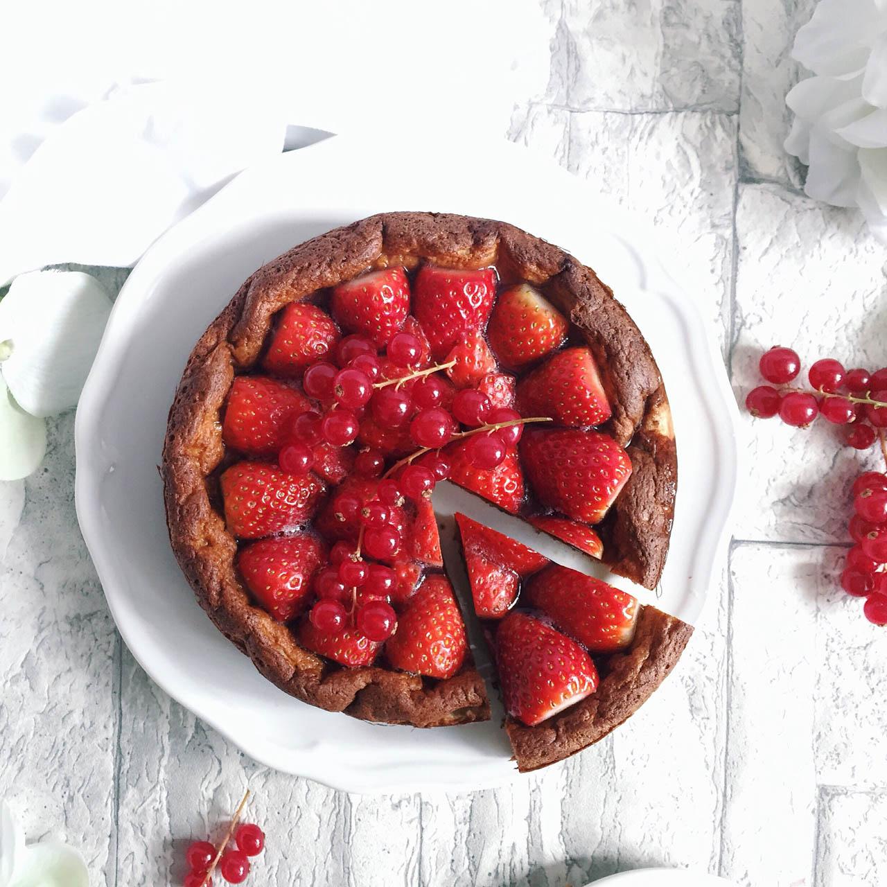 Rezeptbild Erdbeer Kokos Torte