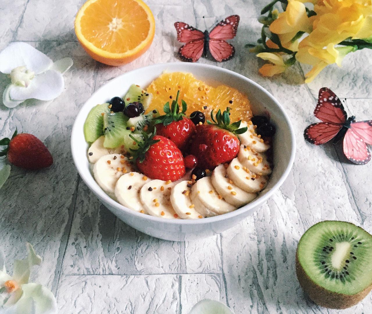Rezeptbild Oatmeal Frühstücksbrei