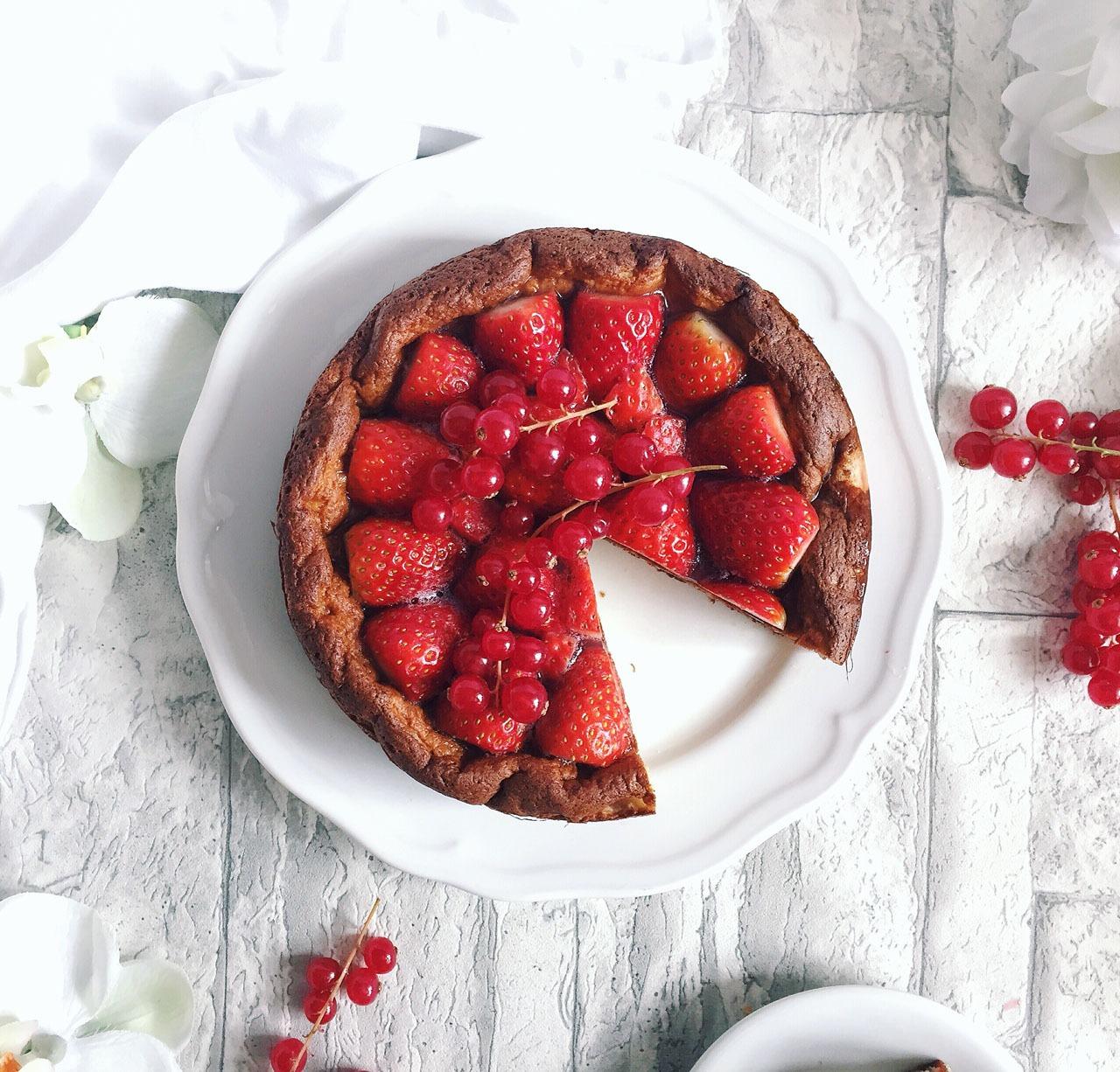 Erdbeer Kokos Torte Rezept nachkochen