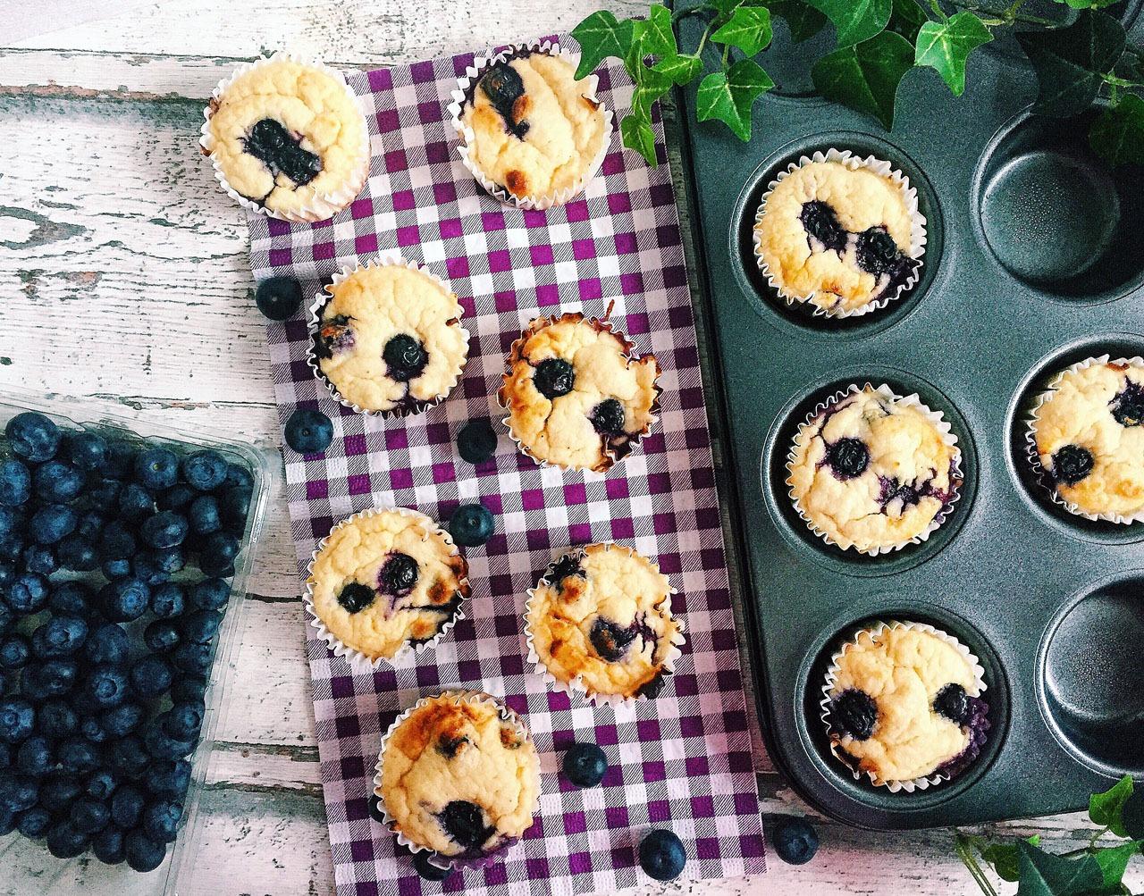 Heidelbeer Protein Muffins zubereiten