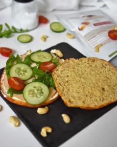 Protein Brötchen mit Eiweiss Mehl Mix 1