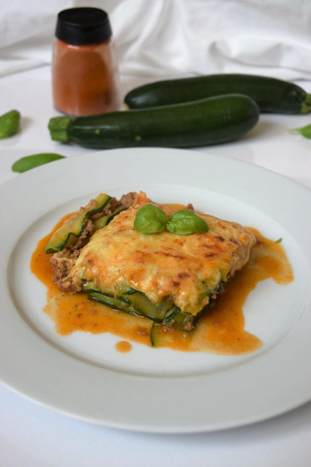 Rezeptbild Zucchinie Lasagne mit Bechamelsoße