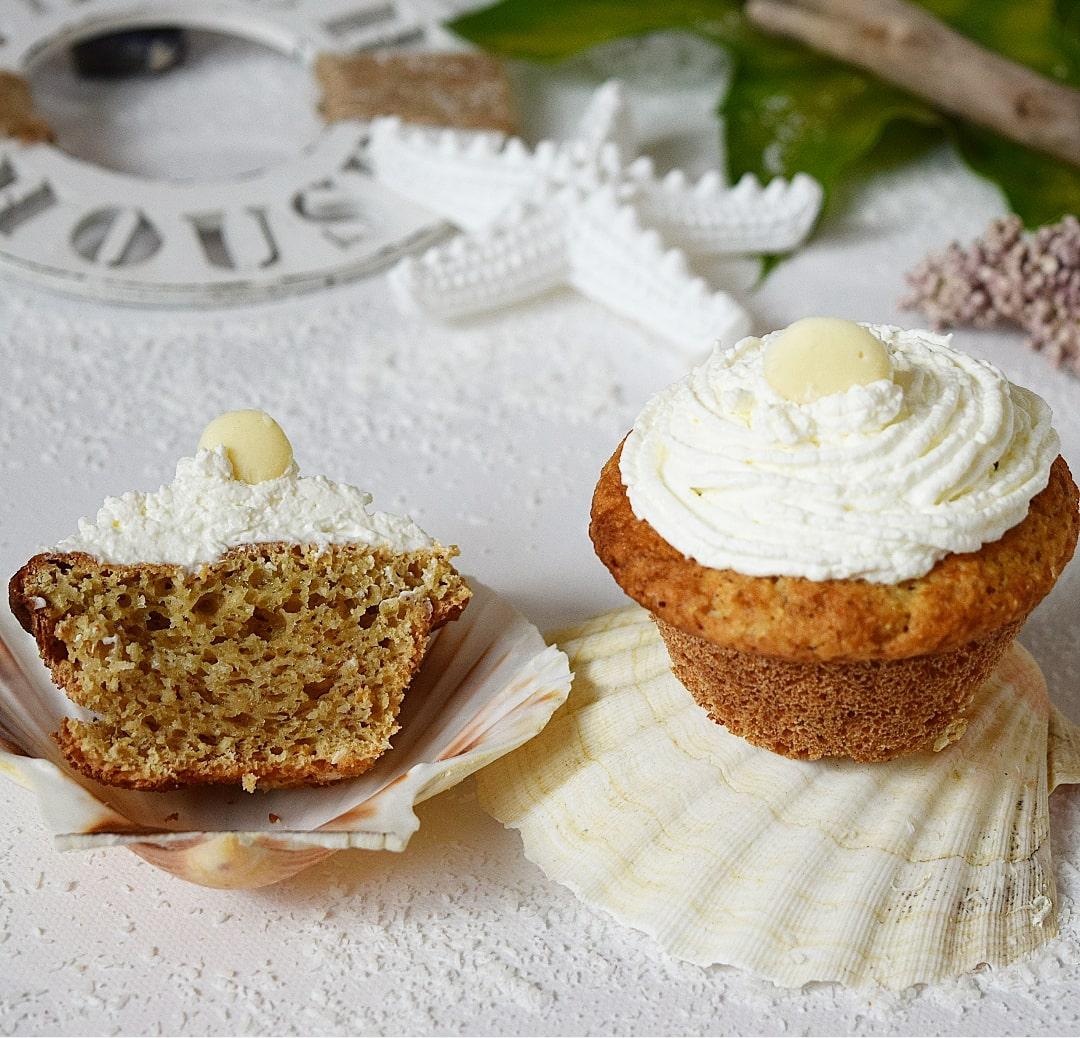 Zubereitung Kokos Sahne Cupcakes
