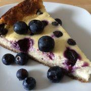 Rezept für Blueberry Cheesecake