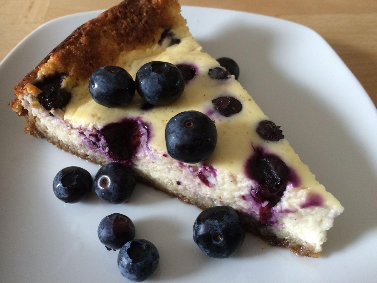 Blueberry Cheesecake Rezept nachkochen