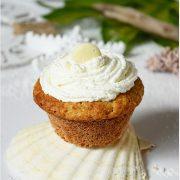 Rezept für Kokos Sahne Cupcakes