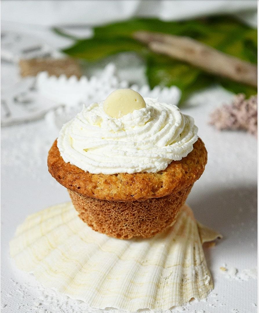 Kokos Sahne Cupcakes zubereiten