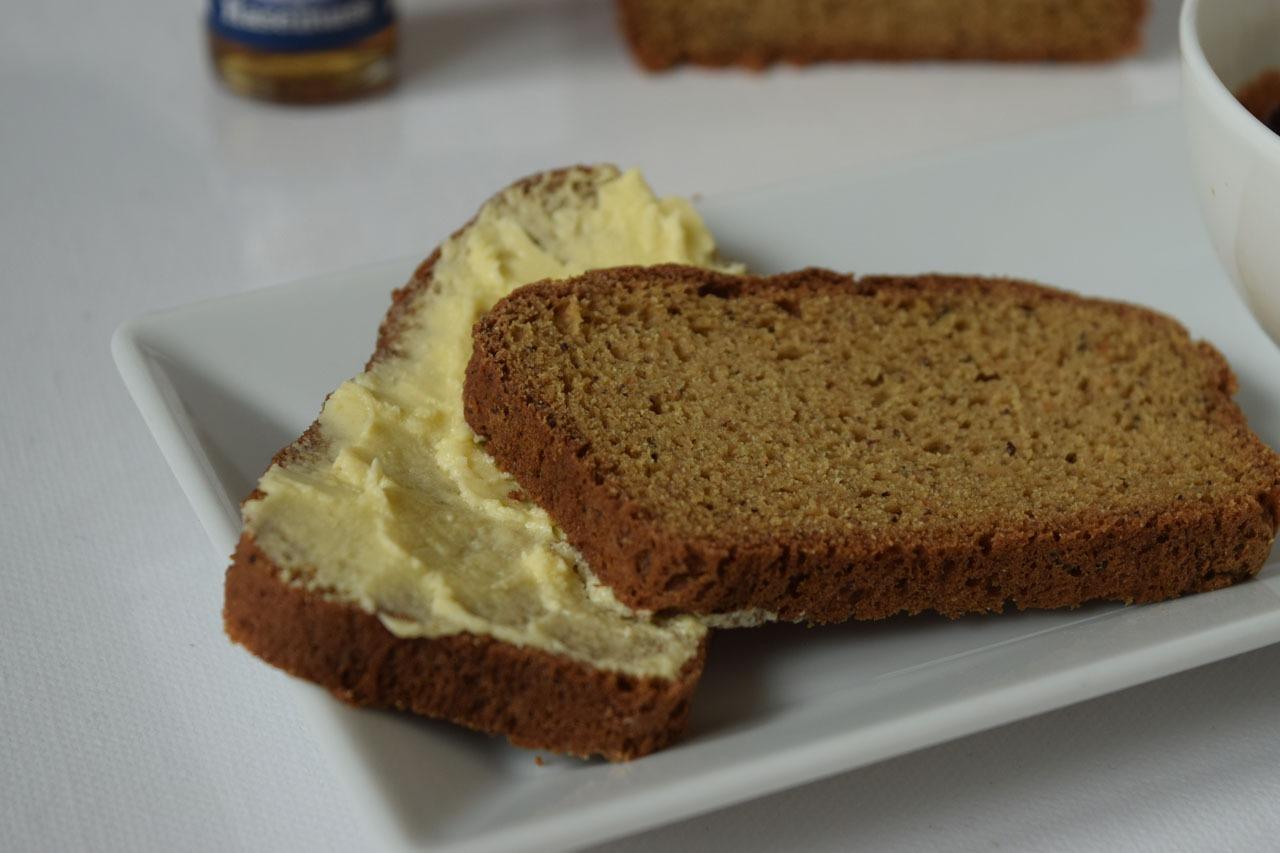 Rezeptbild Süßes Protein Brot