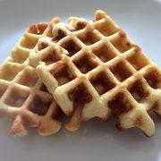 Rezept für Belgische Protein Waffeln