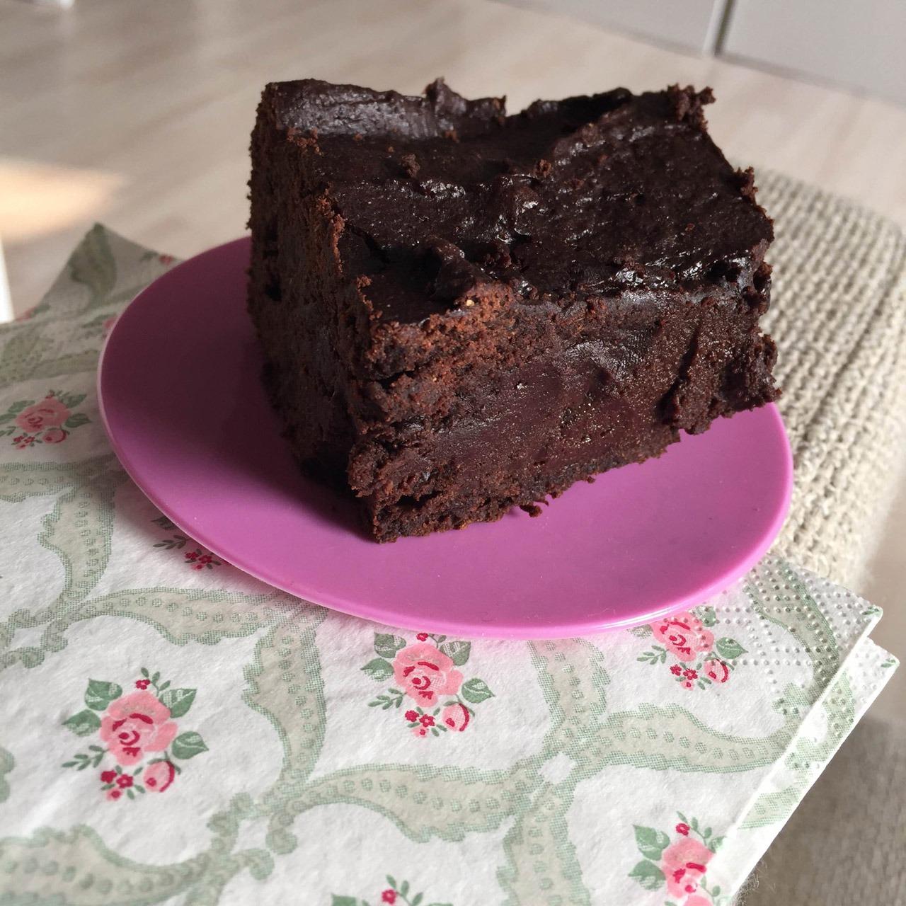 Zubereitung Schoko Spekulatius Brownies