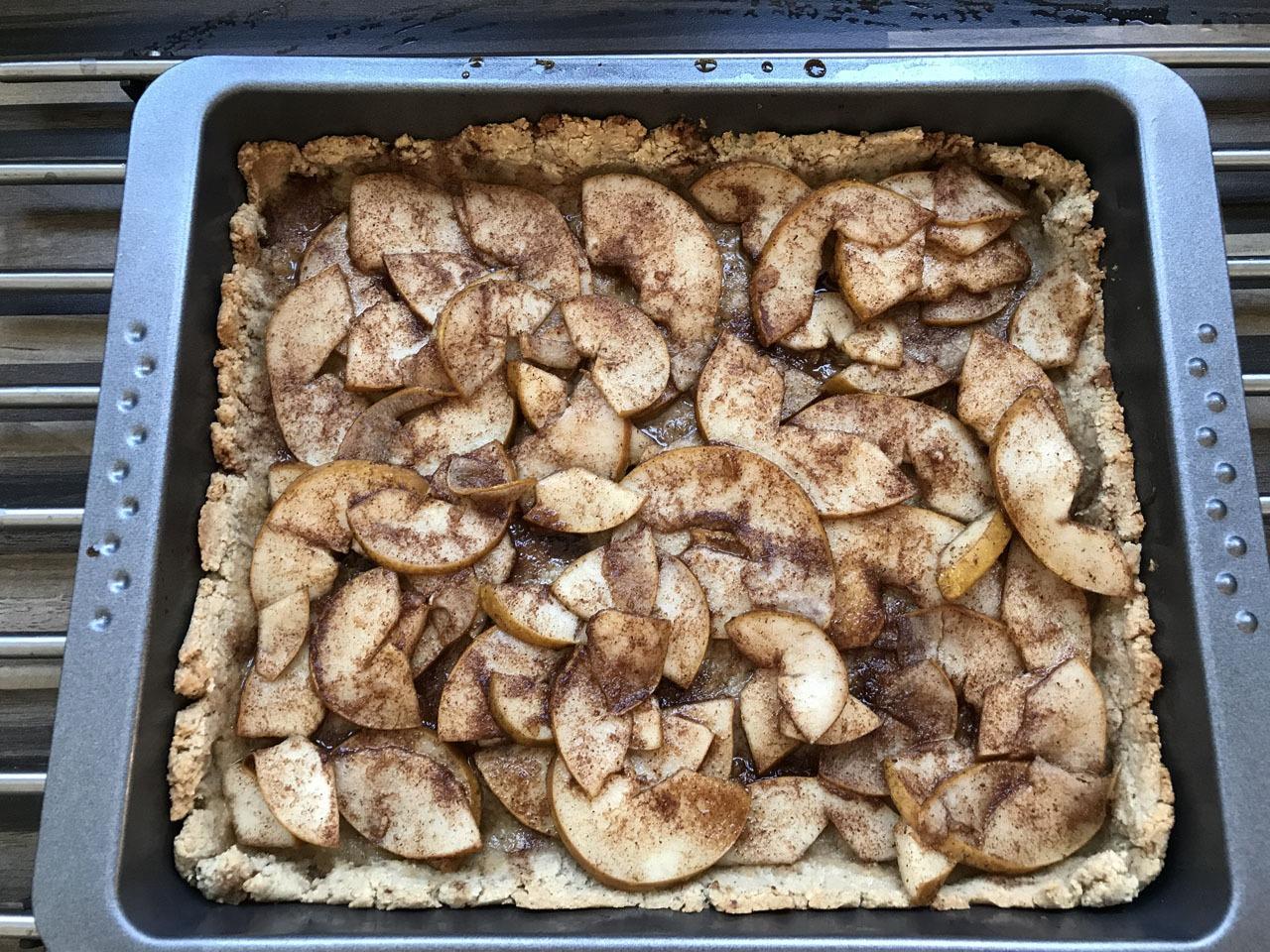 Birnen Tarte ohne Zucker zubereiten
