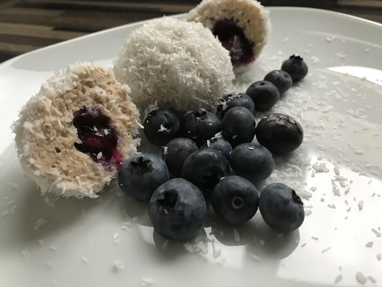 Rezeptbild Süße Protein Quark-Bällchen