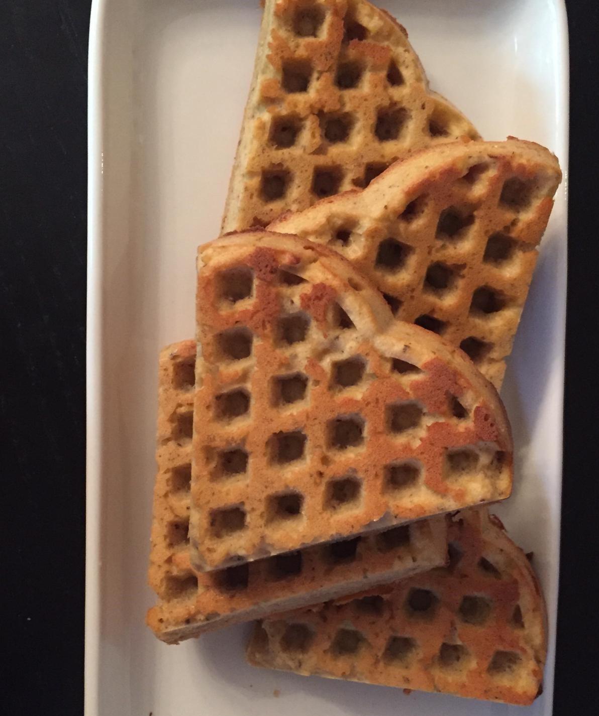 Kefir Frühstückswaffeln zubereiten