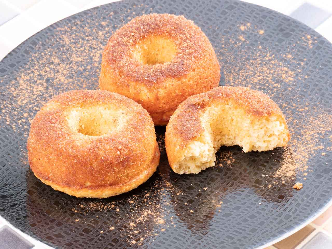 Protein Donuts ohne Zucker zubereiten
