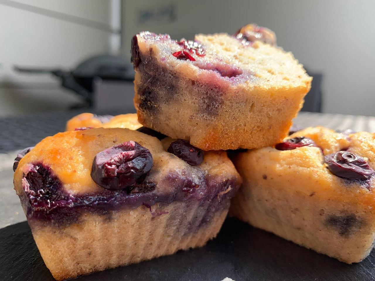 Heidelbeere Muffins zubereiten