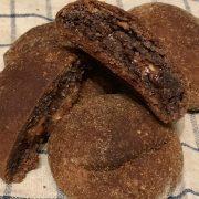 Rezept für Schoko-Kokos Brötchen mit Schoko Lava Kern