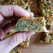 Rezept für Brokkolie Protein Riegel so können 100 Kalorien aussehen