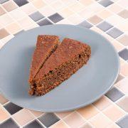 Rezept für Haselnusskuchen mit Hy-Pro Milk Chocolate Cookies