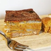 Rezept für Hokkaido Kürbis Kuchen