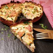 Rezept für Protein Zucchini Quiche