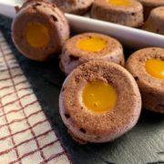 Rezept für Gefüllte Mini Protein-Donuts